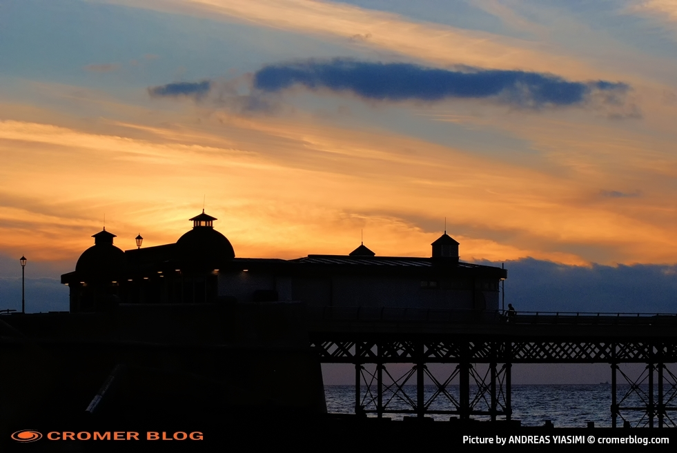 Sunset Cromer Pier Andreas Yiasimi