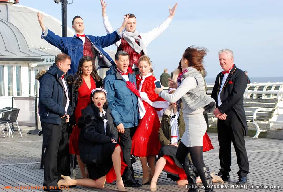 Catching up with Cromer Christmas show cast